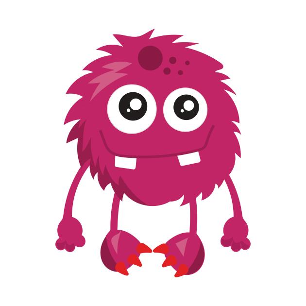 Pink Monster, Furry Monster, Little Monster