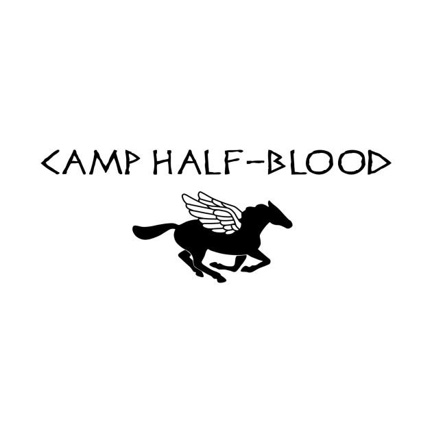 camp half blood percy jackson tshirt teepublic