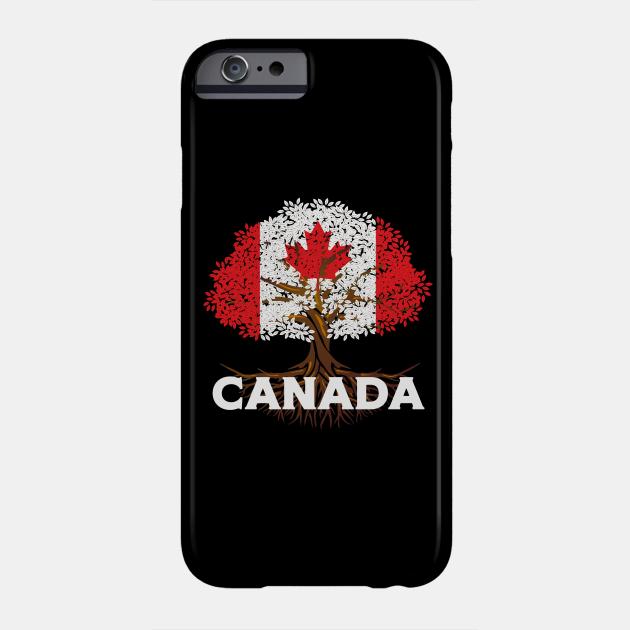 Canada Flag Tree