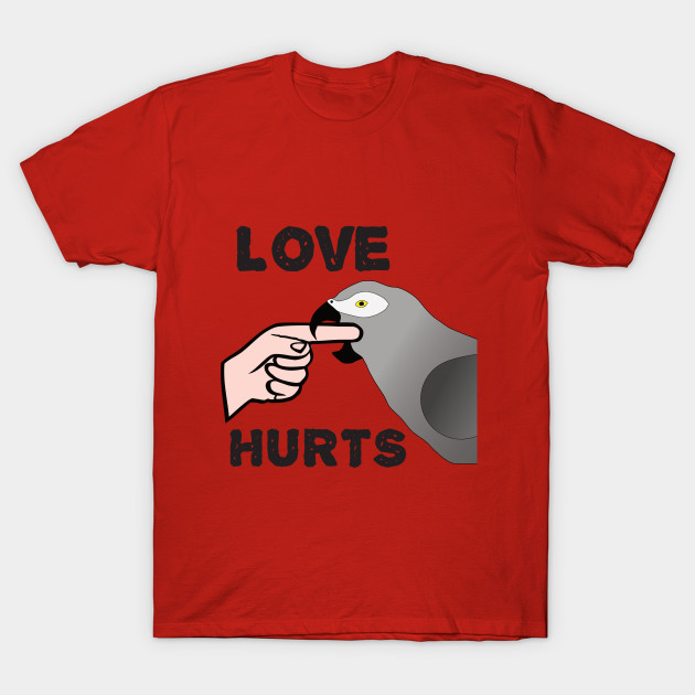 Love Hurts - African Grey Parrot