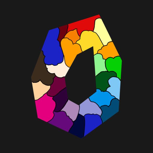 Syymbols Polygon colorful