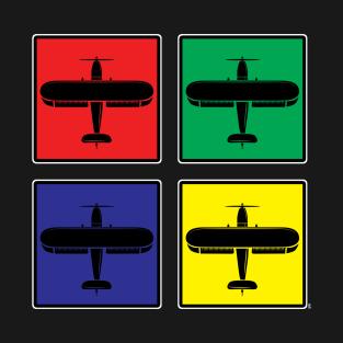 Airplane Box Airplane Pilot Gift T-Shirt