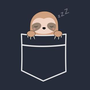 Kawaii Cute Lazy Sloth T-Shirt t-shirts