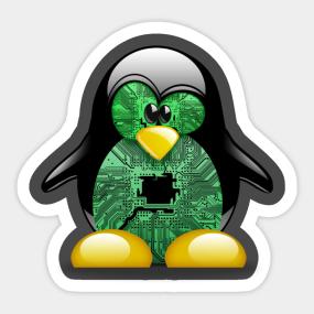 Linux Tux Sticker