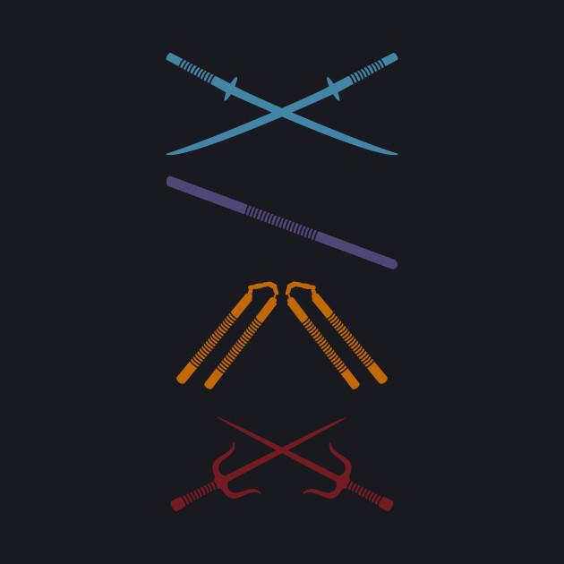 TMNT Weapons
