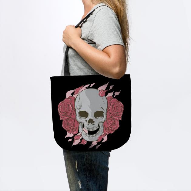 Love Skull Halloween