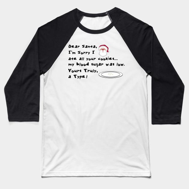 Dear Santa Im Sorry I Ate All Your Cookies Diabet Tee Unisex T-Shirt Fashion Hoodies & Sweatshirts Men