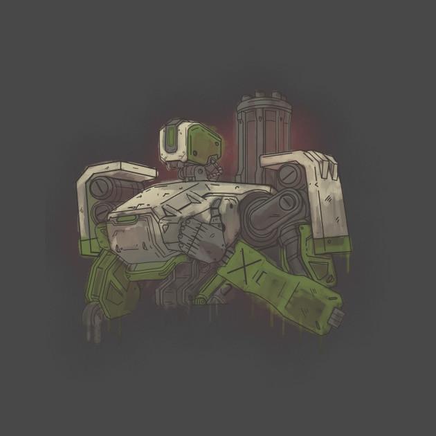 Camper Robot T-Shirt