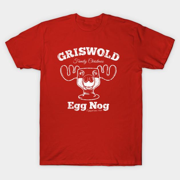 Griswold Christmas Egg Nog Christmas T Shirt Teepublic