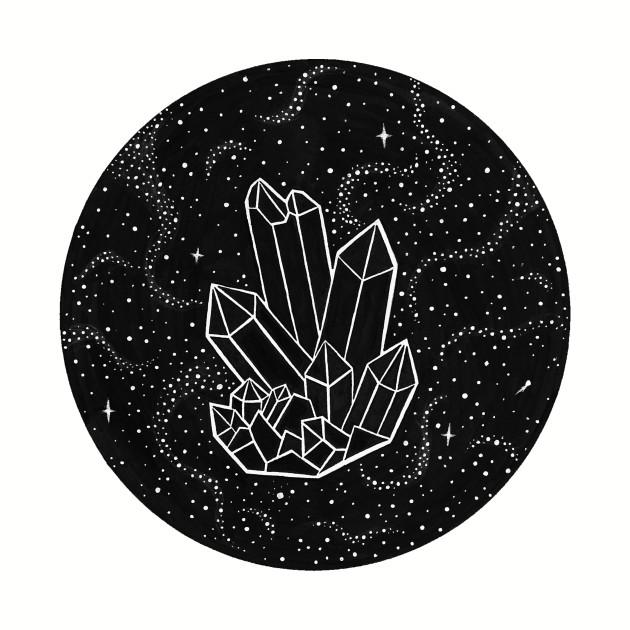 Quartz Crystal Galaxy