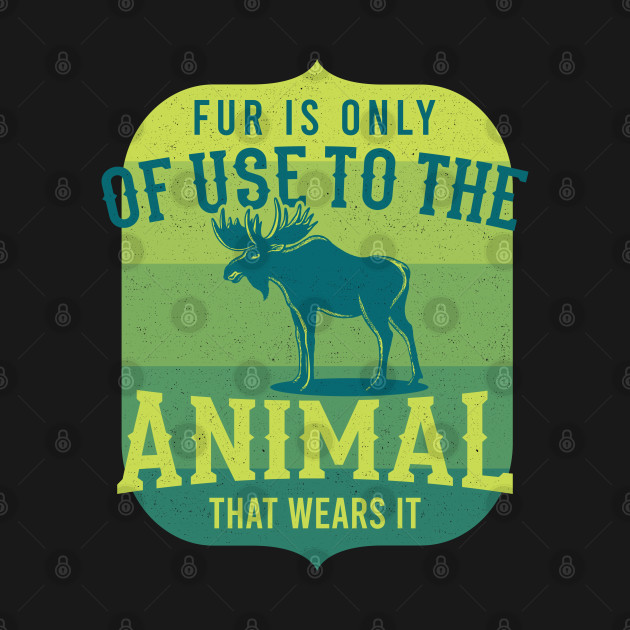 Fur For Animals Wildlife Gift For Animal Lovers