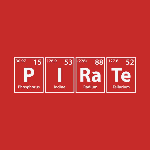Pirate (P-I-Ra-Te) Periodic Elements Spelling