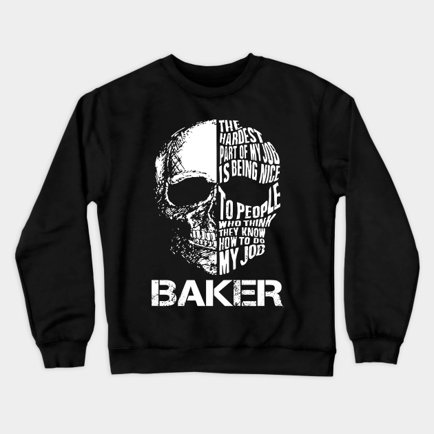 Baker T Shirt - I Solve Problems Gift Item Tee