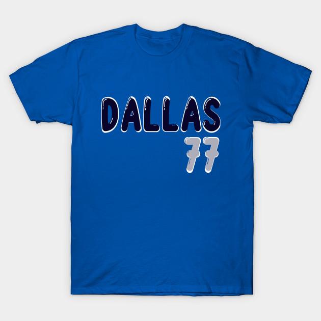 Luka Doncic Nba Bubble Jersey Luka Doncic Dallas Mavericks 77 T Shirt Teepublic Uk