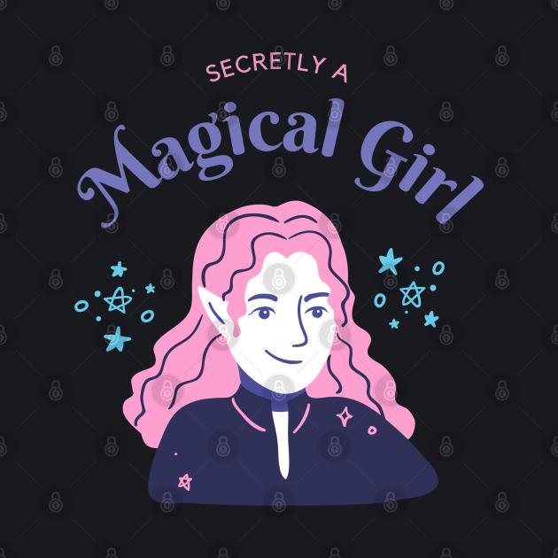 Secretly a Magical Girl t shirt