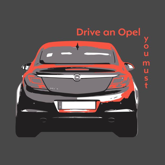 Opel Insignia illustration