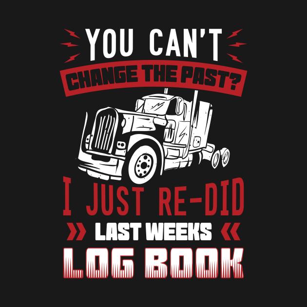 I Just Re-Did Last Weeks Log Book