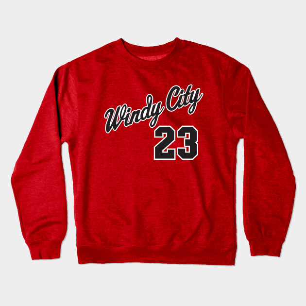 Windy City 23 - Chicago Bulls - Crewneck Sweatshirt  2fb126162a2e