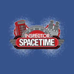Inspector Spacetime Blorgon Edition t-shirts