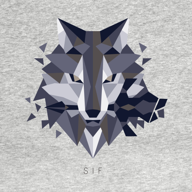 Sif the Great Grey Wolf II