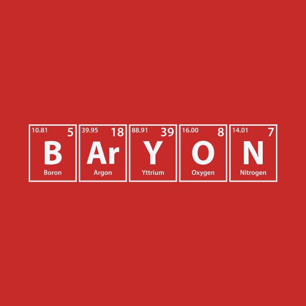 Baryon Elements Spelling