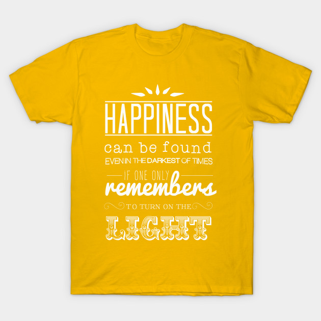 b2dcac42e Happiness can be found... Dumbledore Quote, Harry Potter - Harry ...