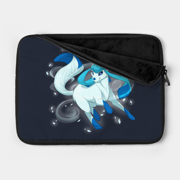 Glaceon used Icy Wind!(SHINY)