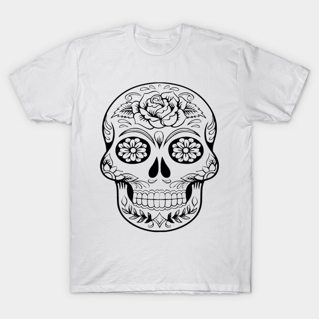 6150db45e Santa Muerte T-Shirt - T Shirts for Women - Men -Kids - Santa Muerte ...