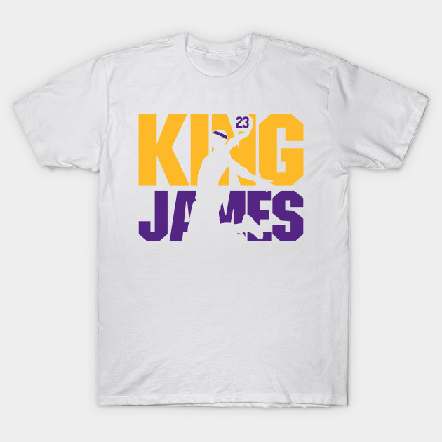 on sale 52c93 d98ca King James Lakers