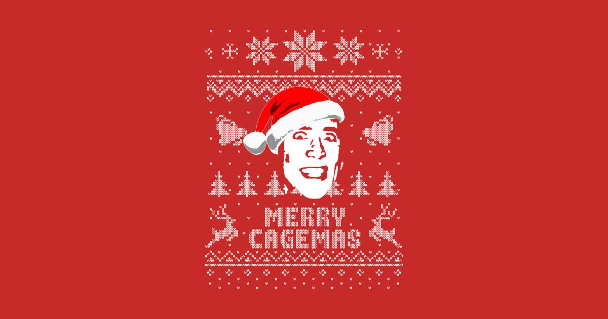 Christmas Parody.Merry Cagemas Christmas Parody By Nerd Art