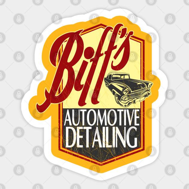 Biffs Auto Detailing Unisexe Tablier-Drôle-BTTF