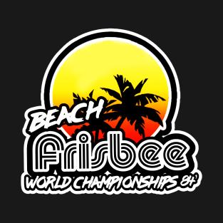 Beach Frisbee 84 t-shirts
