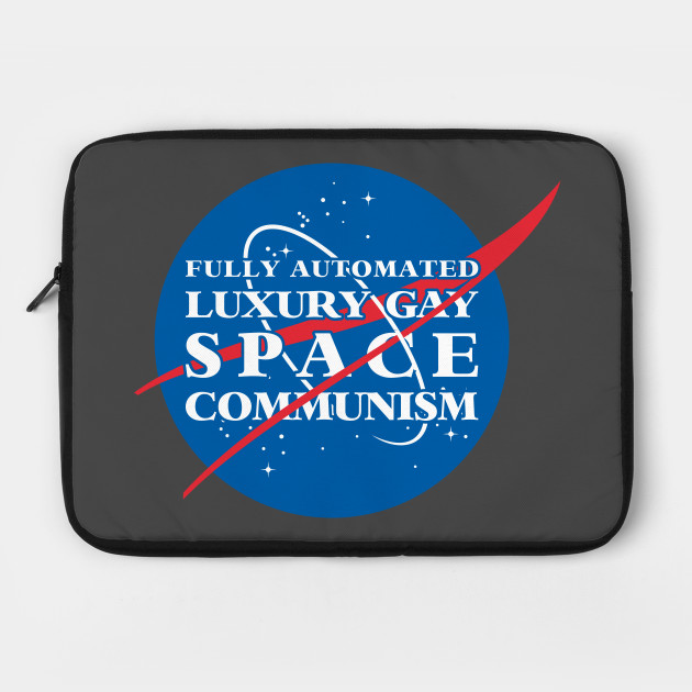 3ca9ca58 Fully Automated Luxury Gay Space Communism - Communism - Laptop Case ...