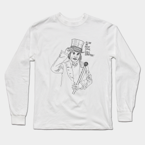 6ad49718f Charlie And The Chocolate Factory Long Sleeve T-Shirts | TeePublic
