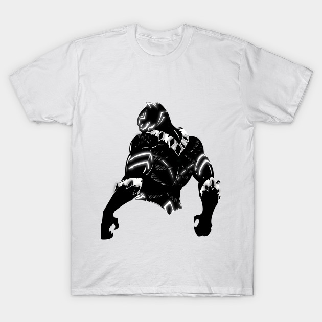 Black Panther vector - Black Panther - Camiseta  6232123d6bbc7