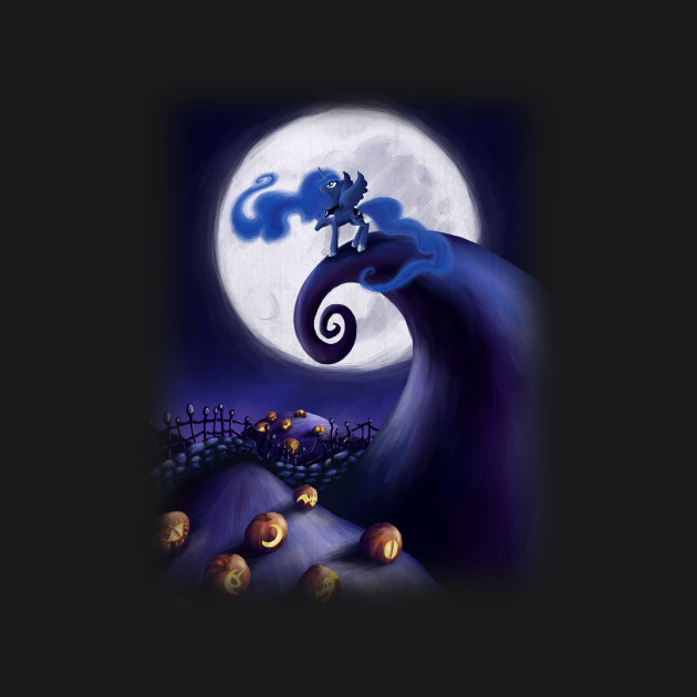 My Little Pony - Princess Luna - The Nightmare Before Christmas ...