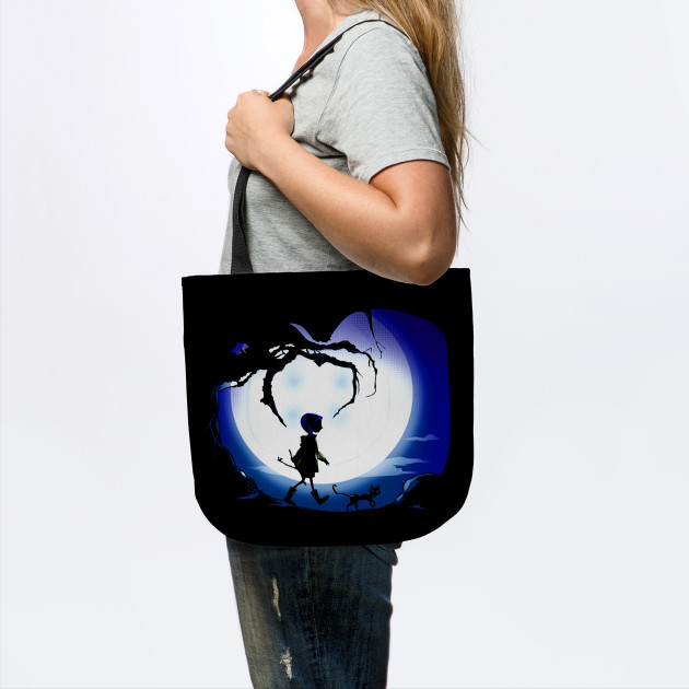 Coraline Coraline Movie Tote Bag Teepublic Uk