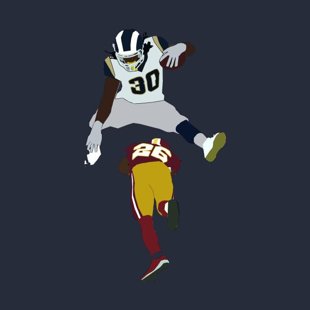new concept eac2f d5fc5 Todd Gurley Hurdle - LA Rams