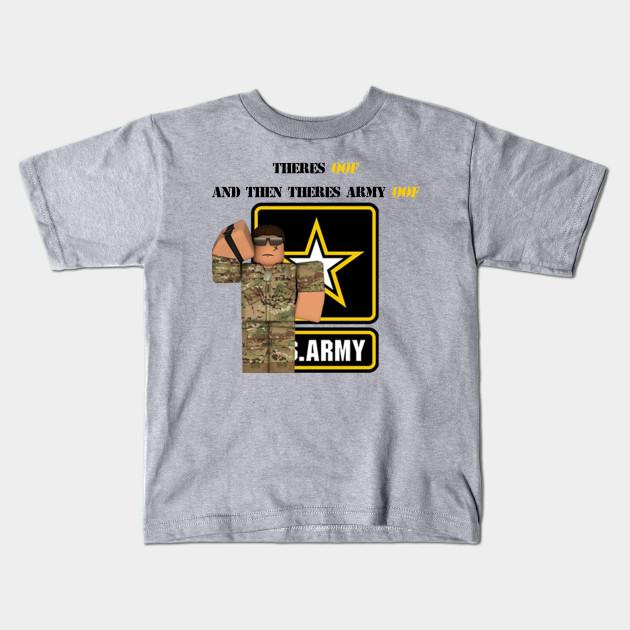 Roblox Army T-shirt - Roblox - Kids T-Shirt  e822f1b855a