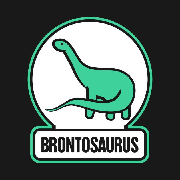 Long Neck Dinosaur Brontosaurus Graphic