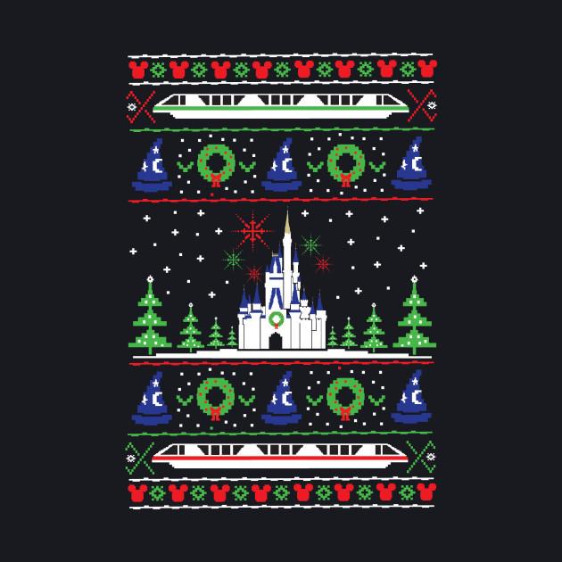Magical Kingdom Christmas Sweater