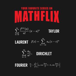 Mathflix t-shirts