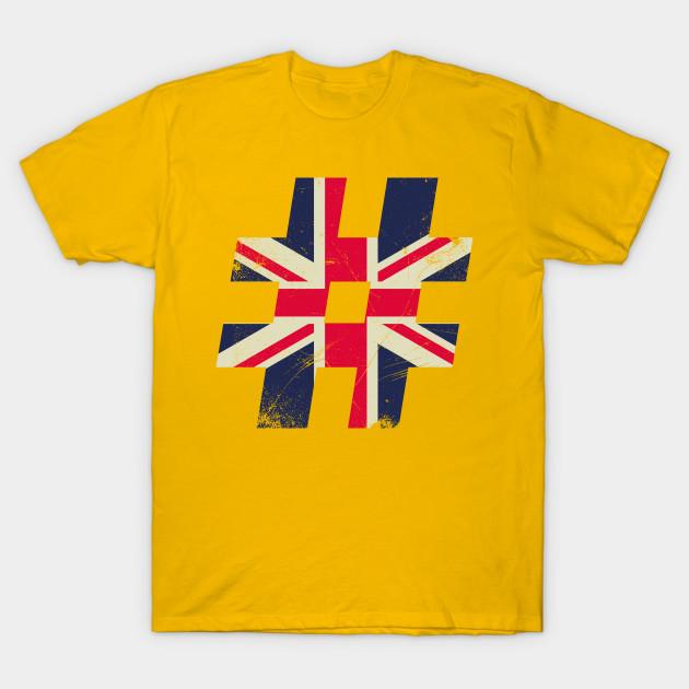 British Pound Great Britain Flag T Shirt Teepublic