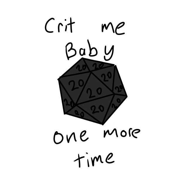 Crit me baby one more time