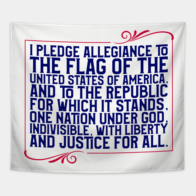Pledge of Allegiance Tapestry