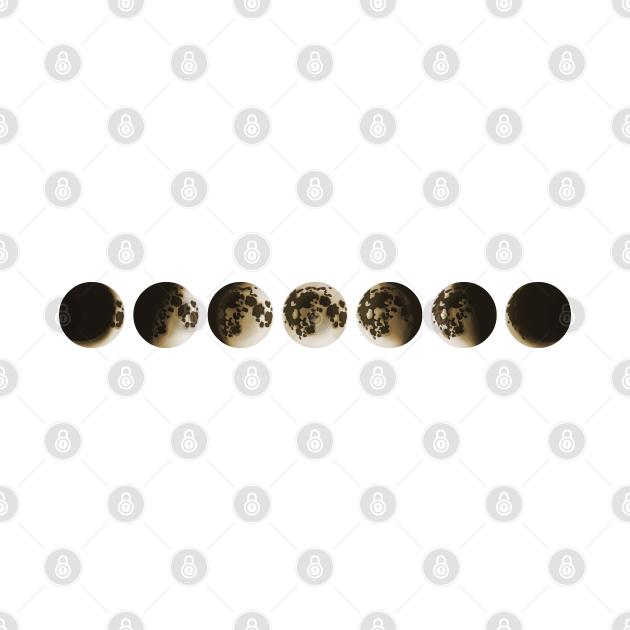 Moon Phases - Cool Astrology Gift For Men & Women