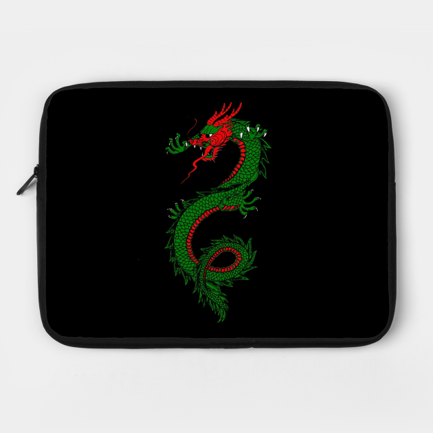 Dragon Print Art Wear