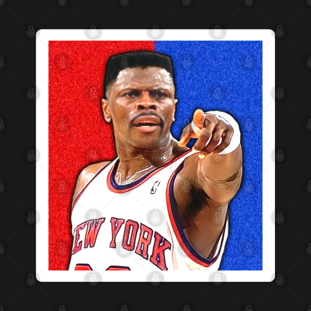 Red and blue patrick ewing