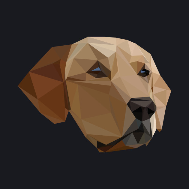 Low poly labrador