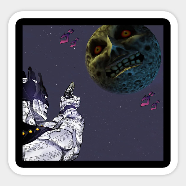 White Snake In Clock Town White Snake Jojo X Majoras Mask Sticker Teepublic